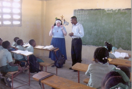 Sr. Jane Visits the Classroom